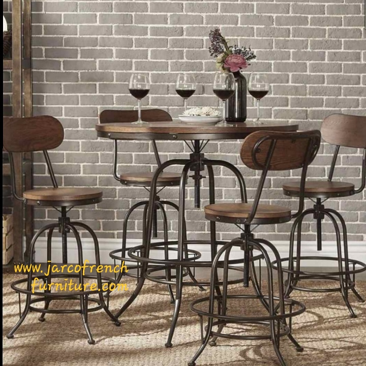 Jarco Bar Table and Chairs Set