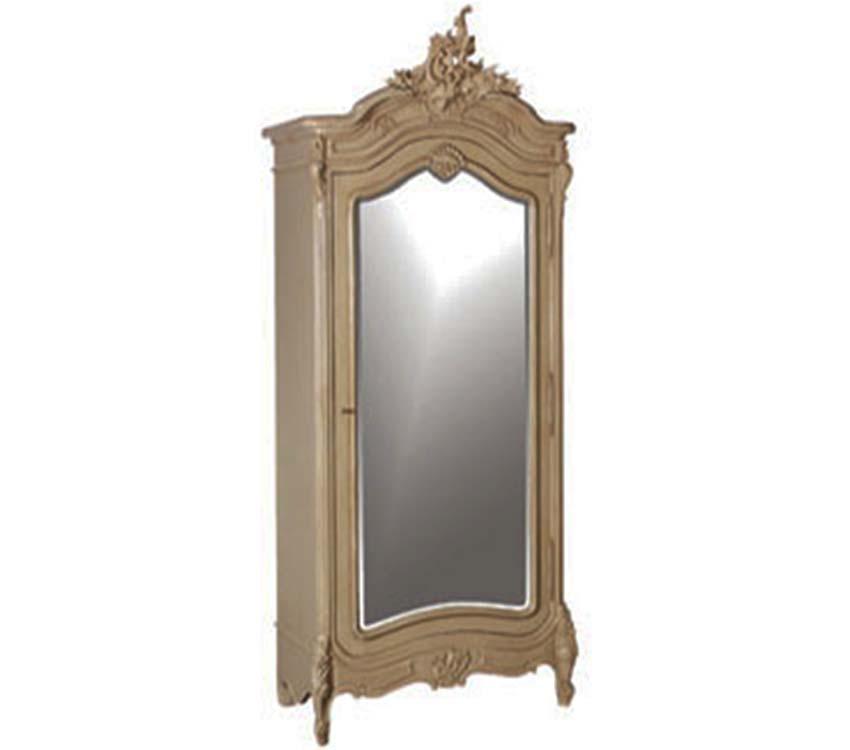 Portofino Armoire Single Mirror Door