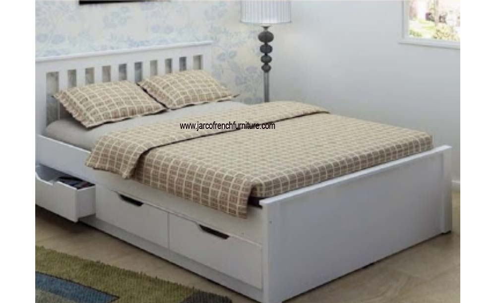 Bed with 3 Drawers