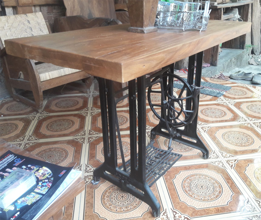 Sewing Dining Table 105cm