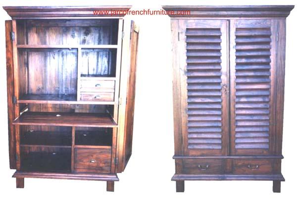 Shutter Computer Cabinet