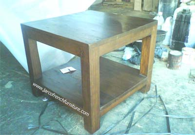 Square Lamp Table 55