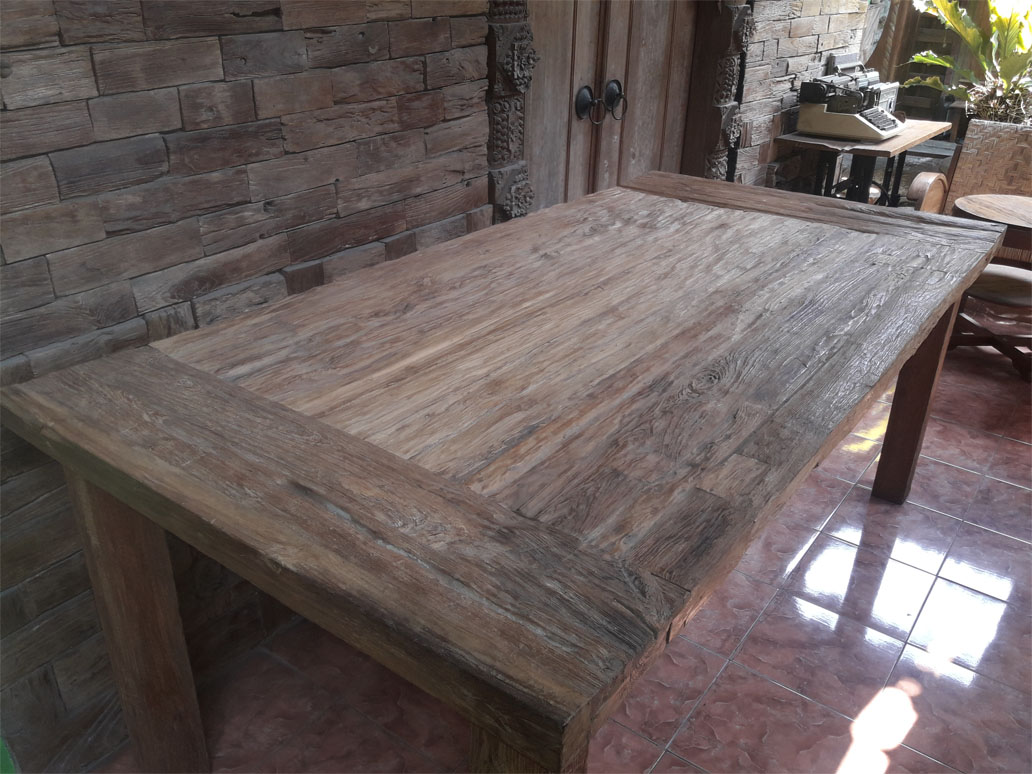 Rustic Taplok Dining Table 203cm