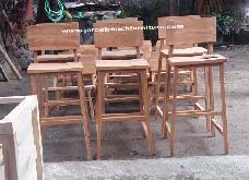 Lombok Garden Bar Chairs