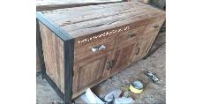 Rustic Buffet 3 Drawers
