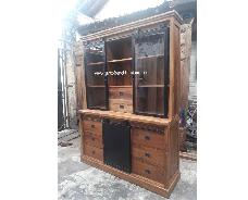 Lawyer Cabinet with 6 Drawers 2 part section