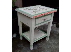 Tribal Side Table 1 Drawer