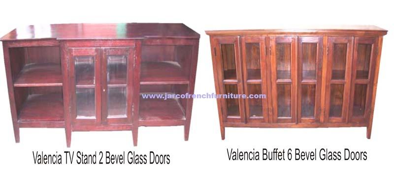 Valencia Buffet 6 Glass Doors